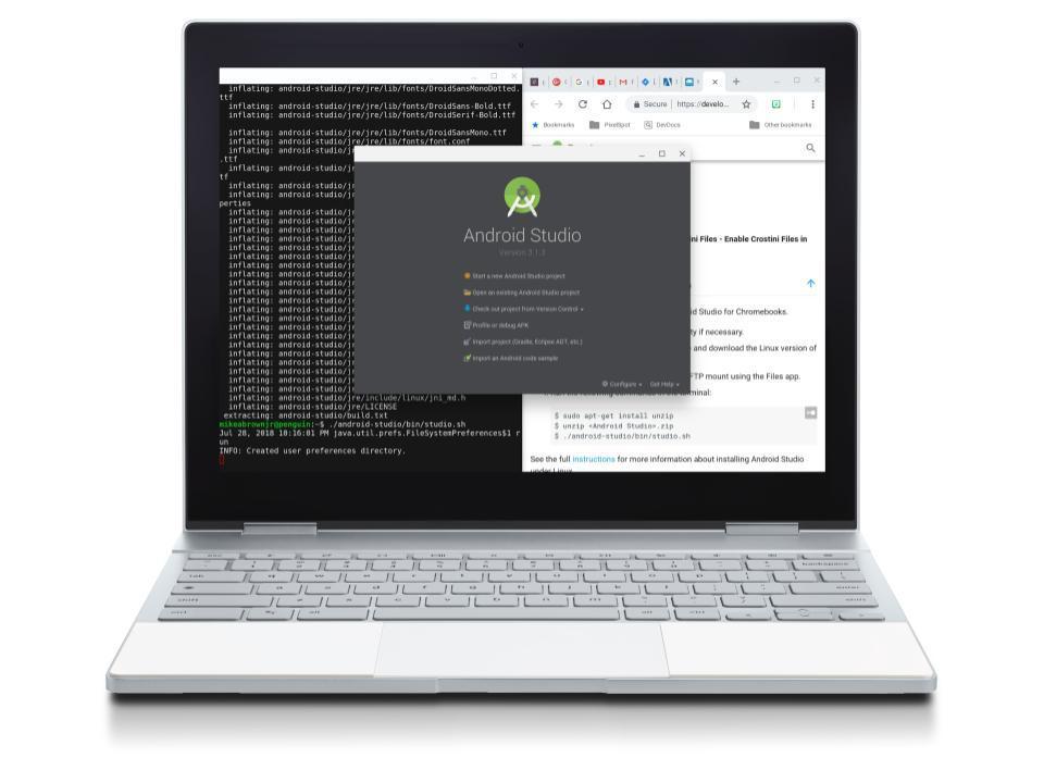 Pixelbook-Programming